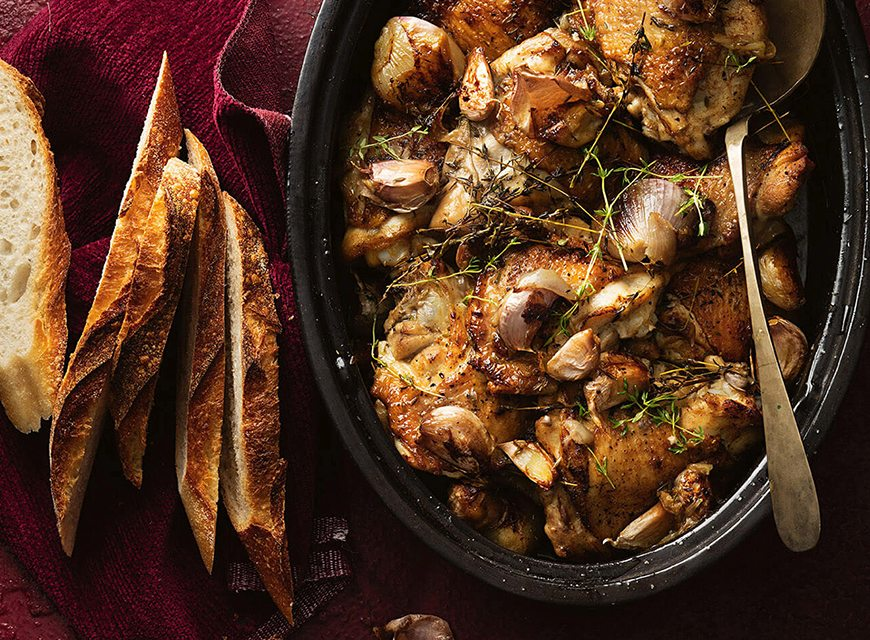 Garlic Clove Chicken